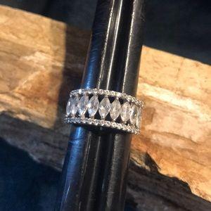 Sterling Silver & CZ Ring